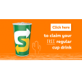 Subway - Free Regular Cup Drink with Steak Sheriff or Chicken Bandit Sub (Eat Fresh Club Members Only)