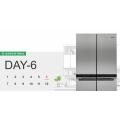 Costco - 12 Days of Christmas Deals: Whirlpool 675L 4 Door Refrigerator WQ70900SXX $1699.99