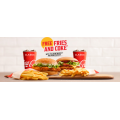 McDonald's - Free Small Fries & Coke with New McSpicy Burger or Parmi Burger Purchase