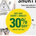 General Pants - Buy Any Short & Singlet Get Extra 30% Off