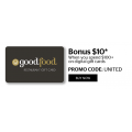 Good Food Gift Card - Bonus $10 on $100+ on Digital Gift Cards (code)