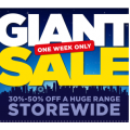 Spotlight - Giant Sale: 30%-50% Off A Huge Range Storewide - 48 Hours Only