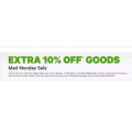 Groupon - Mad Tuesday Sale: 10% Off Goods Deals (code)