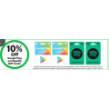 Woolworths - 10% Off $30 & $50 Google Play and $36 & $72 Spotify Gift Cards