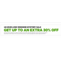 Groupon - Long Weekend Sale: Up to 30% Off Storewide (code)! 48 Hours Only