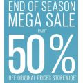 End Of Season Sale At Guess - Up To 50% Off