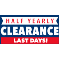 Harvey Norman - Half Yearly Clearance Super Deals - Starts Now