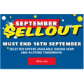 "HarveyNorman: September Sellout Sale - Starts Today (In-Store & Online): eg: Hisense 49""  FHD LED Smart TV $495 (Was $695)  & More"