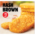 Hungry Jacks - Hash Browns $1 (Usually $2.45)! Available before 11 A.M Daily