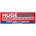 Harvey Norman - Big Brands Huge Electronics Clearance - Today Only