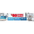 The Good Guys - $80/$40/$20 Store Credit + Notable Offers! Online Only