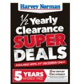 Harvey Norman Boxing Day Sale 2017 (1/2 yearly Clearance starts Tues, 26th Dec)