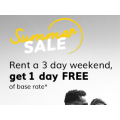 Hertz - Rent for 3 Days Get 1 Day Free (code)