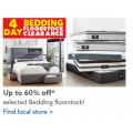Harvey Norman - 4 Days Clearance: Up to 60% Off Mattresses; Bedroom Furniture & Manchester! In-Store Only