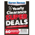 Harvey Norman Boxing Day Sale 2016 (1/2 yearly Clearance starts Monday)