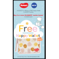 Big W - Free Nappy Wallet (RRP $20) with 2 or more Huggies Jumbo Boxes