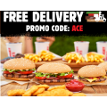 Hungry Jacks - Free Delivery on Orders - Minimum Spend $10 (code)