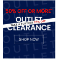 The Iconic - Outlet Clearance: Minimum 50% Off Sale Styles + Extra 25% Off - Starts Today
