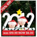 70% OFF on Personalised 2012 Christmas Ornaments