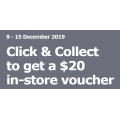 IKEA - FREE $20 In-Store Voucher with Click & Collect Orders