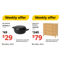 IKEA - Weekly Savings Sale: Up to 75% Off Sale Items e.g. OVERALLT Pot with Lid $29 (Was $69); HEMNES Chest of 3 Drawers $79 (Was $249) etc.