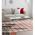 IKEA - Lowest Price Sale: Up to 70% Off Clearance Items + Extra $10 (code) e.g. SISSIL Cushion Cover $5 (Was $29.99); SIMESTED Rug $79 (Was $199) etc.