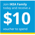 IKEA - Further Markdowns Added Sale: Up to 50% Off Clearance Items + Extra $10 Voucher