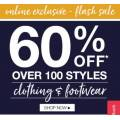 Rivers - Online Flash Sale: 60% Off Over 100 Clothing & Footwear Styles e.g. Essentials Athletic Sneakers $12 (Was $39.99) etc.