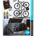 Bike Shed $179; 2 Bike Storage Rack $49.99; 28 Piece Bike Tool Set $39.99; Bike Chain Lubricant 150g $7.99 etc. @ Aldi [Starts Sat 7th Sept]