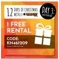 Video Ezy - 1 Free Rental (code)! Today Only