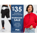 FILA - $35 Women's Lifestyle Range (Up to 75% Off) e.g. Women's Aline Teddy Jacket $35 (Was $150) etc.