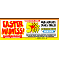 JB Hi-Fi - Easter Madness 2 Days Sale: Up to 50% Off Storewide + Extra 5% Off Coupon