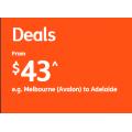 Jetstar - Air Ticket Fares Frenzy: Domestic Flights from $43 + Fly to Bali $207; New Zealand $225; Hawaii $459 Return etc.
