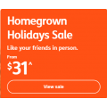 Jetstar - Homegrown Holidays Sale: Domestic Flight Fares from $31 e.g. Melbourne to Adelaide $31