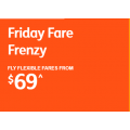 Jetstar - Friday Fare Frenzy: Domestic Flights from $69 - 8 Hours Only