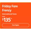Jetstar - Friday International Fare Frenzy: Fly to Bali $206; New Zealand $208; Fiji $422.24 RTN