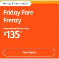 Jetstar Friday International Fare Frenzy: Return Flights to New Zealand $208; Indonesia $237; Thailand $368 etc.