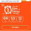 Jetstar - Friday Fares Frenzy: Domestic Flights from $55! 5 Hours Only