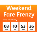 Jetstar - Weekend Fare Frenzy: Domestic Flights from $31 + Fly to New Zealand from $277 Return