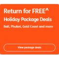 Jetstar Airways - FREE Return Flights for Holiday Deals - Starting from $269
