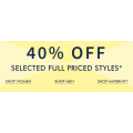 Jeanswest -  Flash Sale: Take an Extra 40% Off Full Priced Styles (In-Store & Online)