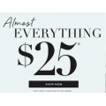 Katies - Nothing over $25 Sale: Up to 80% Off e.g. Top $15; Tee $19; Knit $19; Jacket $25 etc.