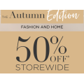 Katies - Autumn Edition Sale: 50% Off Storewide e.g. Tee $15; Top $15; Cami $15 etc.