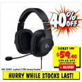 JB Hi-Fi - 40% Off Logitech G PRO Gaming Headset, Now $59.40 (code)! Was $99