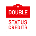 Qantas - Double Status Credits on Eligible Flights [Travel between 23 October 2018 and 30 June 2019]