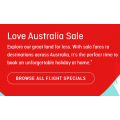 Qantas - 3 Days Love Australia Sale: Domestic Flights from $109 (350,000 Fares across 77 Routes)