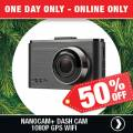 Supercheap Auto - Deal of the Day: NanoCam Plus 1080P Dash Cam With Wifi & GPS $94.97 (Was $189.95)