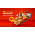 McDonald's - 20% Off Orders via mymacca's App - Minimum Spend $10