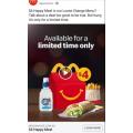McDonalds - Loose Change Menu: $4 Happy Meal (Nationwide)
