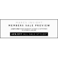 Member Sale Preview: 40% OFF All Sale Styles @ Marcs